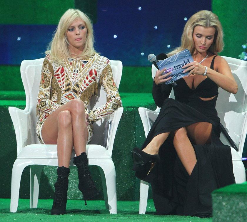 Anja Rubik i Joanna Krupa