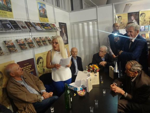 Nataša Bartula se predstavila i na Beograskom sajmu knjiga