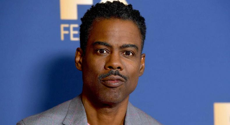 American comedian and actor Chris Rock
