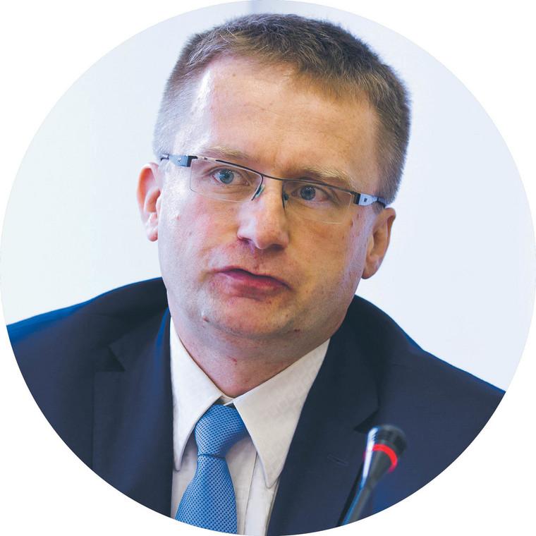 Bartłomiej Kołodziej, zastępca dyrektora departamentu podatkuod towarów i usług w Ministerstwie Finansów
