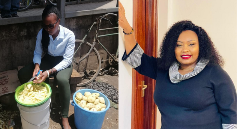 Bevalyne Kwamboka and Millicent Omanga