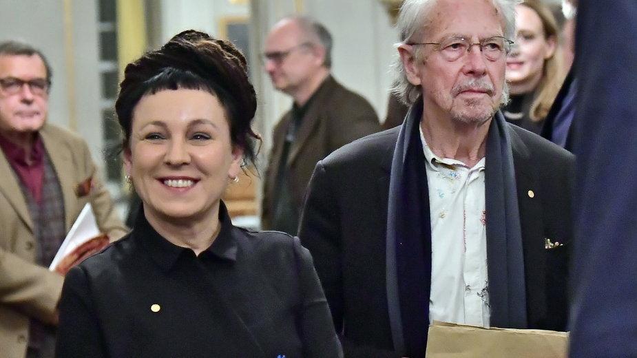 Olga Tokarczuk i Peter Handke