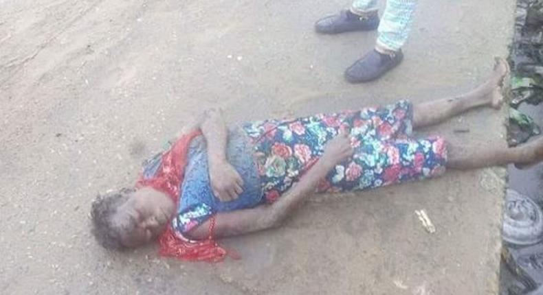 Young girl found inside gutter in Delta state