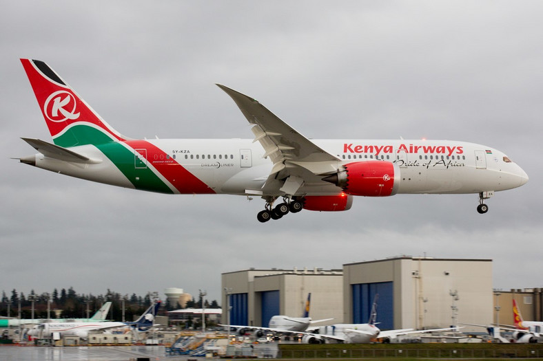 Kenya Airways Boeing 787-2