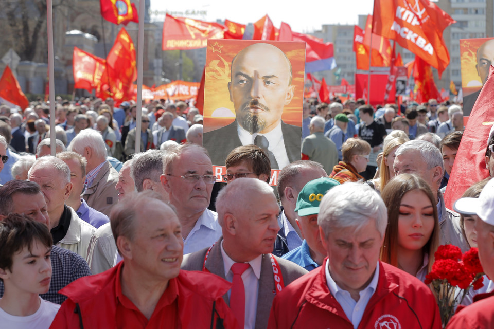 RUSSIA LABOR DAY (Labour Day celebrations in Moscow)