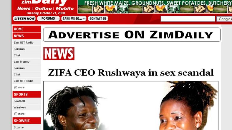 Afrykański seks skandal