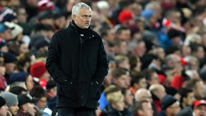 Mourinho was sacked by Manchester United after a limp defeat at arch rivals Liverpool