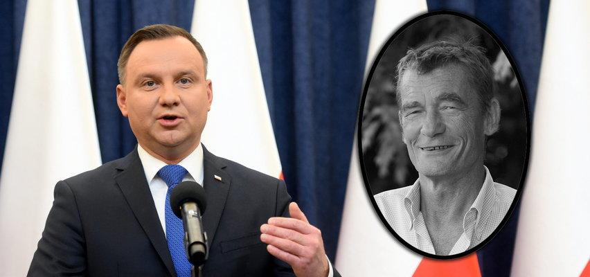 """Andrzej Duda pożegnał Kiersznowskiego. """"Człowiek wartości i refleksji"""""""