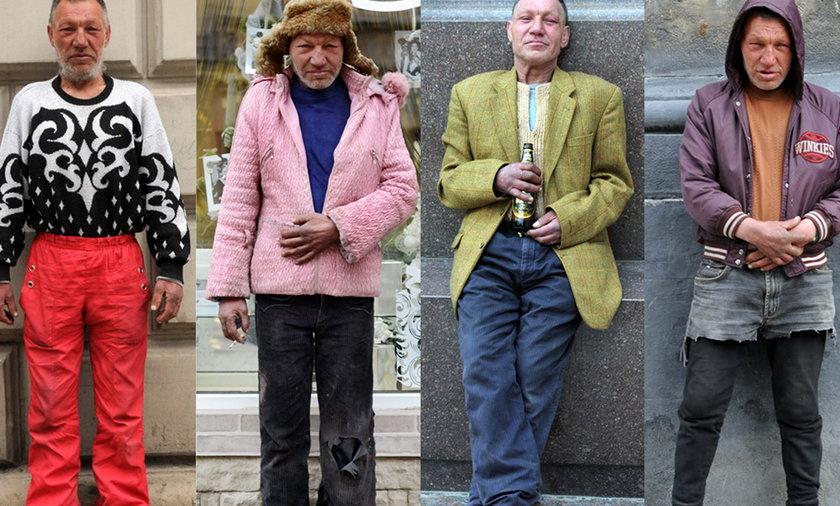 Slavik najbardziej stylowy bezdomny na Ukrainie