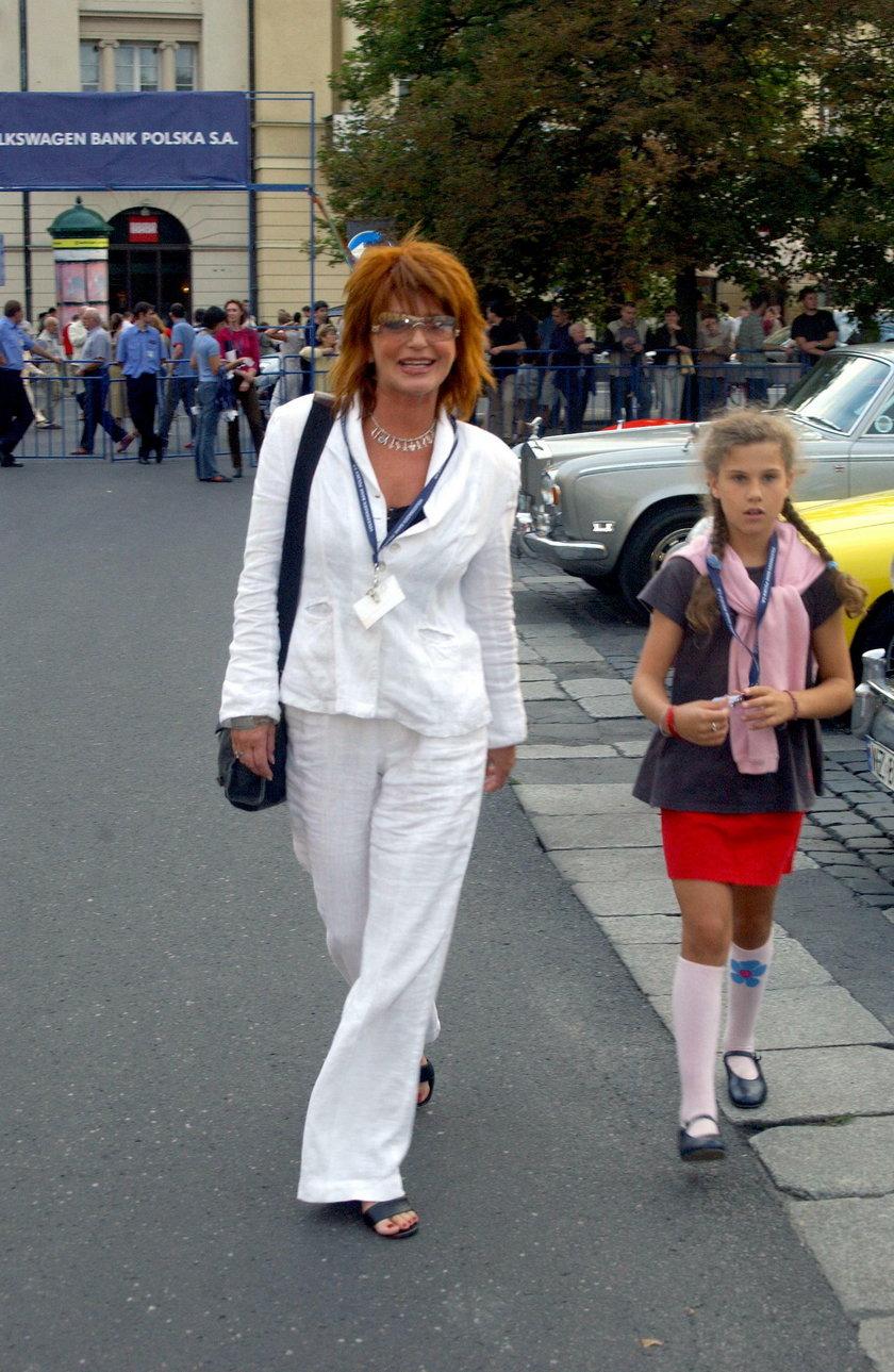 Ewa Sałacka z córką