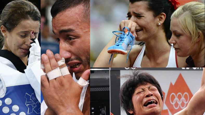Ból, smutek, rozpacz, wzruszenie - dlatego płaczą sportowcy