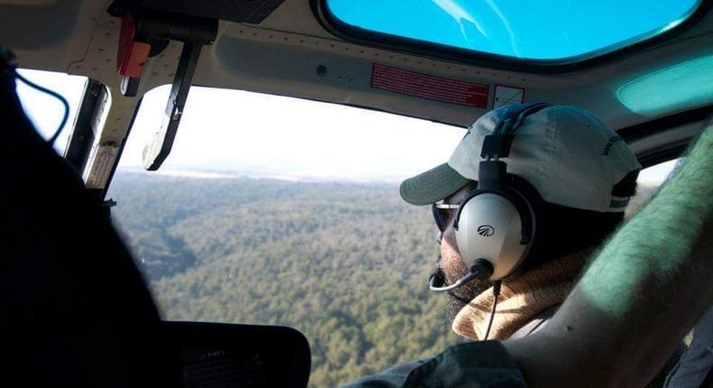 DP Ruto's Pilot Captain Mario Magonga who died in a Chopper crash in Turkana