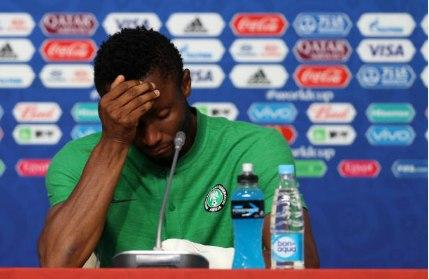 Mikel John Obi's dad was kidnapped just before he played the whole 90 minutes for Nigeria at the 2018 FIFA World Cup