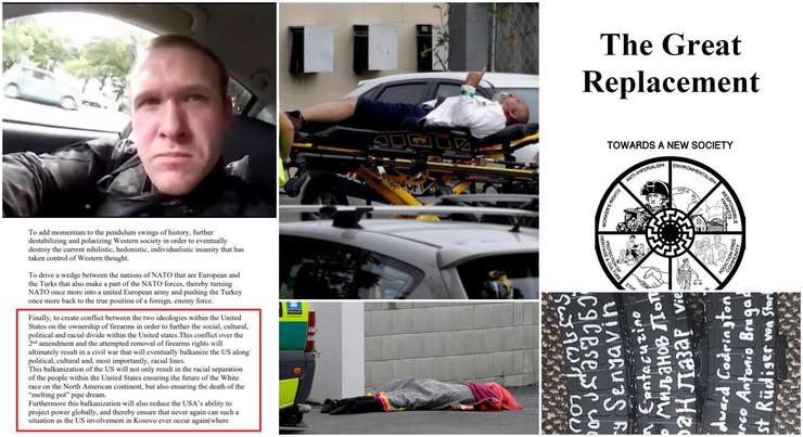 """ZLOSLUTNI ZNAK """"CRNO SUNCE"""": Tajni simbol iz manifesta ubice sa Novog Zelanda o kojem se mnogo ne priča"""