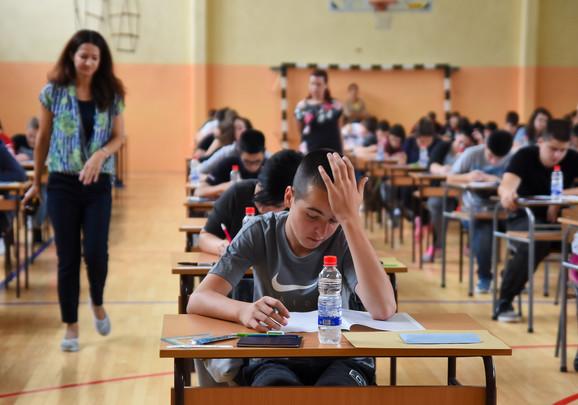 Završni ispit iz matematike u Novom Sadu