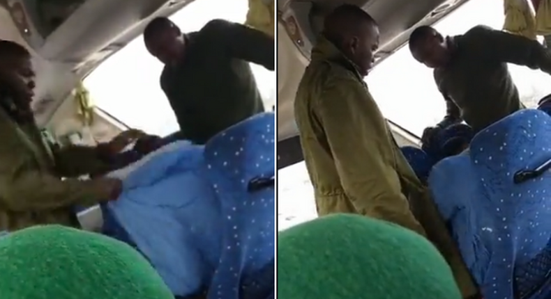 NYS servicemen caught on camera assaulting a civilian