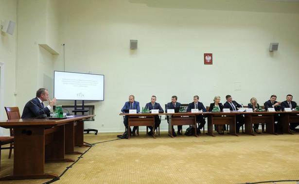 Donald Tusk przed komisją śledczą ds. Amber Gold