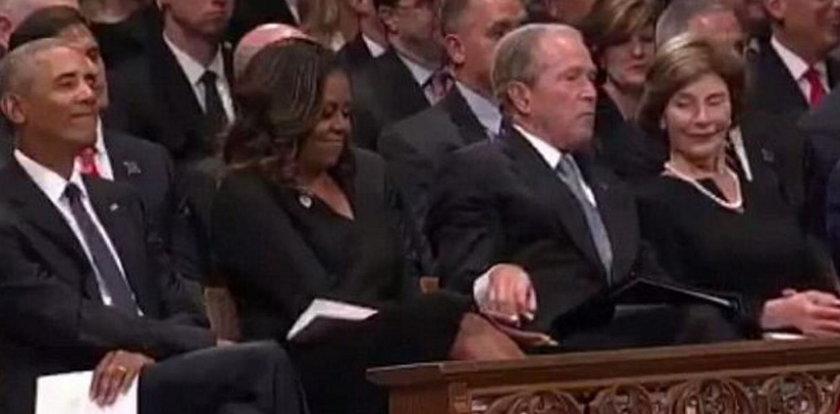 Poczęstował prezydentową pastylką. To nie był miętus...