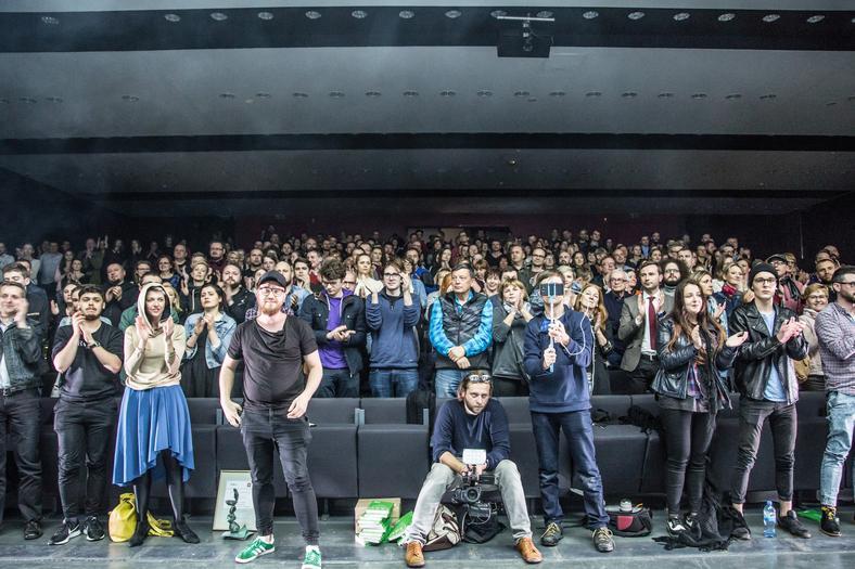 Teatr Polski w podziemiu i publiczność, fot. Natalia Kabanow