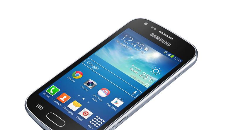 Trend Plus to jeden z tańszych modeli smartfonów Samsunga. Choć nie należy do demonów szybkości (ma tylko 768 MB RAM i CPU taktowane 1,2 gHz), to jednak poradzi sobie z przeglądaniem stron WWW czy mniej wymagającymi aplikacjami