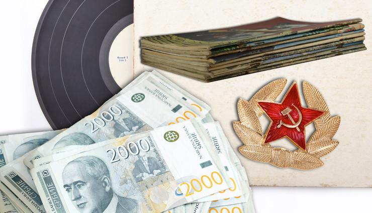 novac strip ploca kombo foto Shutterstock