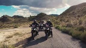 Videorelacja: słoneczna Hiszpania widziana oczami motocyklistów