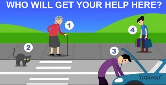 Kome ćete prvo priskočiti u pomoć?