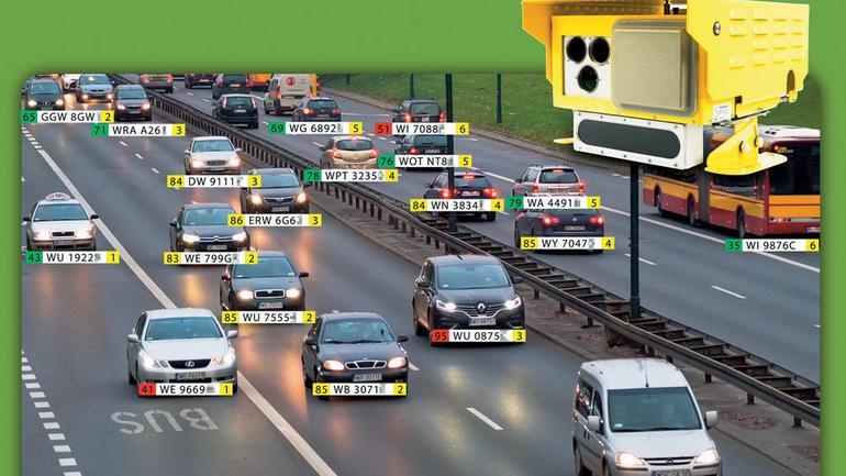 Integra 3D - nowy fotoradar zmierzy nawet 32 auta naraz!