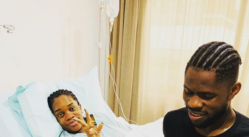 Super Eagles goalkeeper Francis Uzoho welcomes his first son with wife