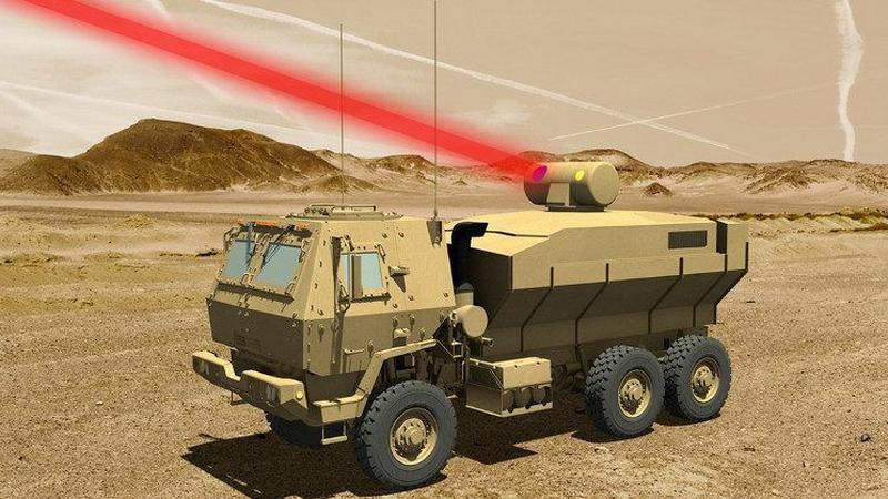 Lockheed Martin testuje mobilny laser bojowy