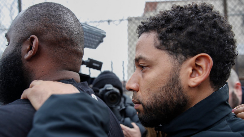 A court in the US has replied Jussie Smollett's claim of assault with 16 counts of felony directed at him.