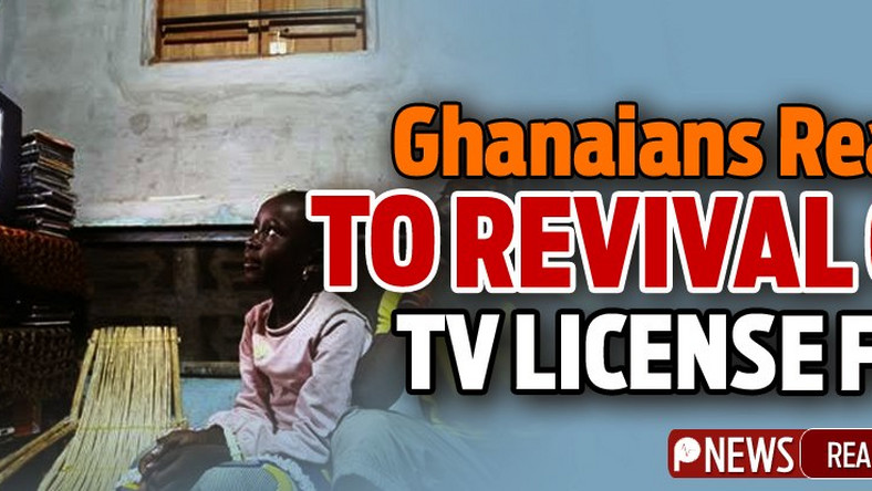 Funny tweets Ghanaians react to revival of TV license fee