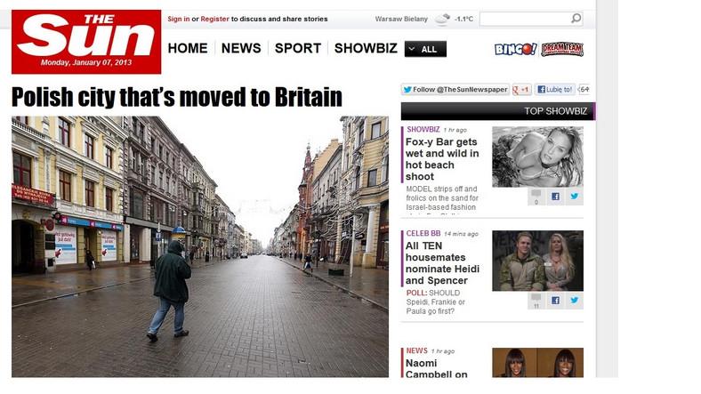Artykuł o Łodzi