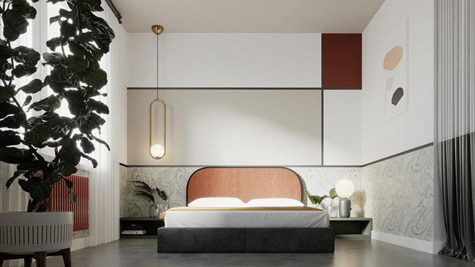 Wnętrza mieszkania inspirowane Bauhausem