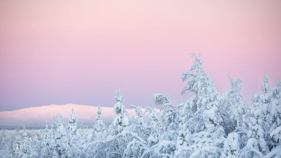 Śnieg w Finlandii