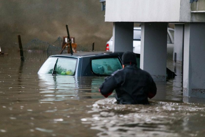 Skutki ulew na Śląsku