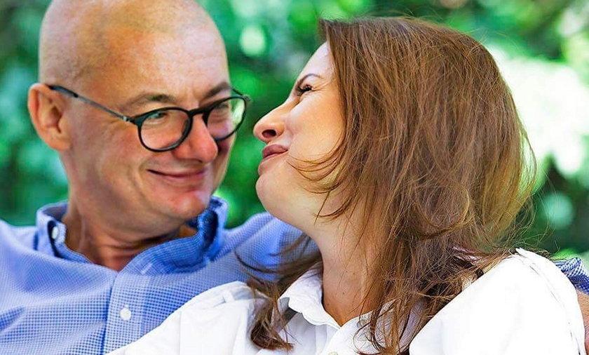 Wicemarszałek Senatu Michał Kamiński właśnie świętował wraz żoną dwudziestą rocznicę związku.