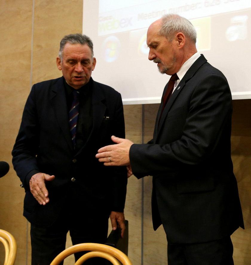 Antoni Macierewicz i Jan Obrębski