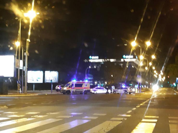 saobraćajna nezgoda, Novi Beograd, Arena
