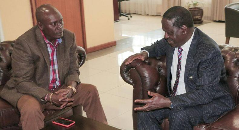 Kabogo goes after Raila with damning remarks