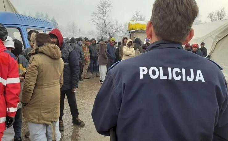 Migranti Vucjak