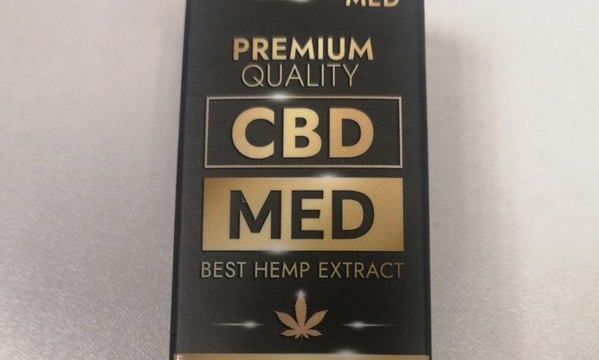 Państwowa Inspekcja Sanitarna stwierdziła, że w produkcie o nazwie Olejek CBD - CBD MED - 250 mg Best Hemp Extract 5%, 5 ml zawarty jest niedozwolony ekstrakt CO2 z konopi włóknistych.