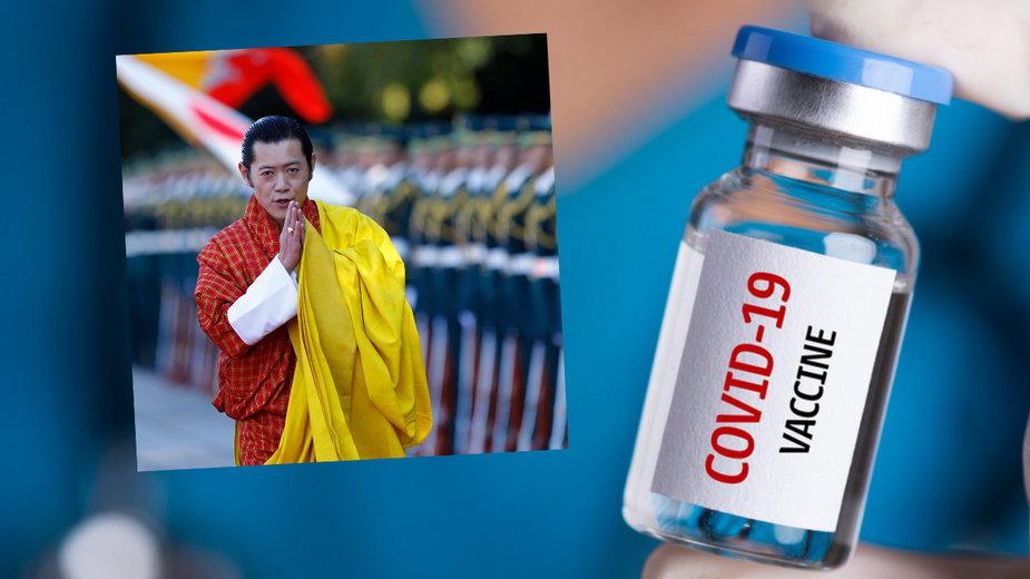 W Bhutanie zaszczepiono 93 proc. dorosłych. Król będzie ostatni