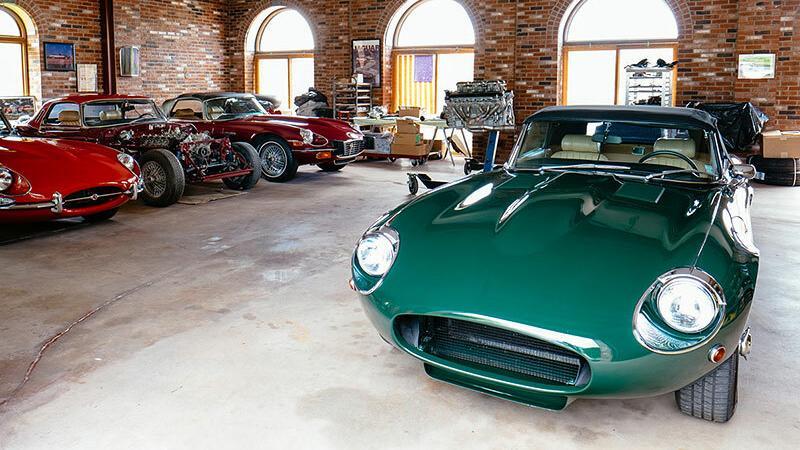 Jaguary po renowacji