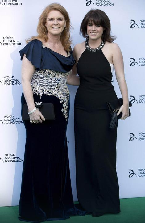 Sara Ferguson sa ćerkom Judžinijom