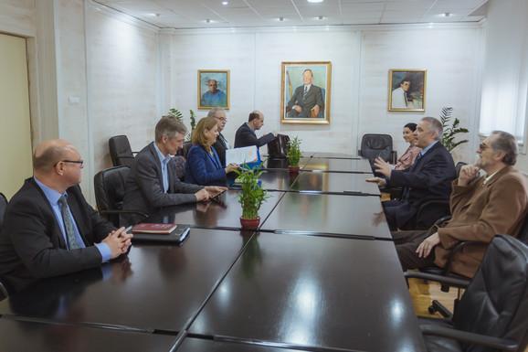 Delegacija CERN u Srbiji