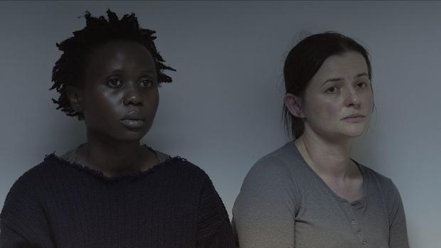 """""""Ptaki śpiewają w Kigali"""": kadr z filmu"""