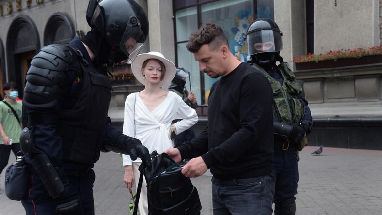 Marsz Jedności w Mińsku