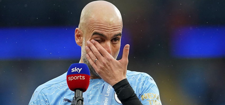 Guardiola cały we łzach. Popłakał się po meczu jak dziecko. Dlaczego?