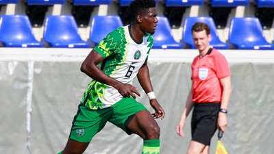 Super Eagles boss Gernot Rohr praises Valentine Ozornwafor for his performance against Cameroon